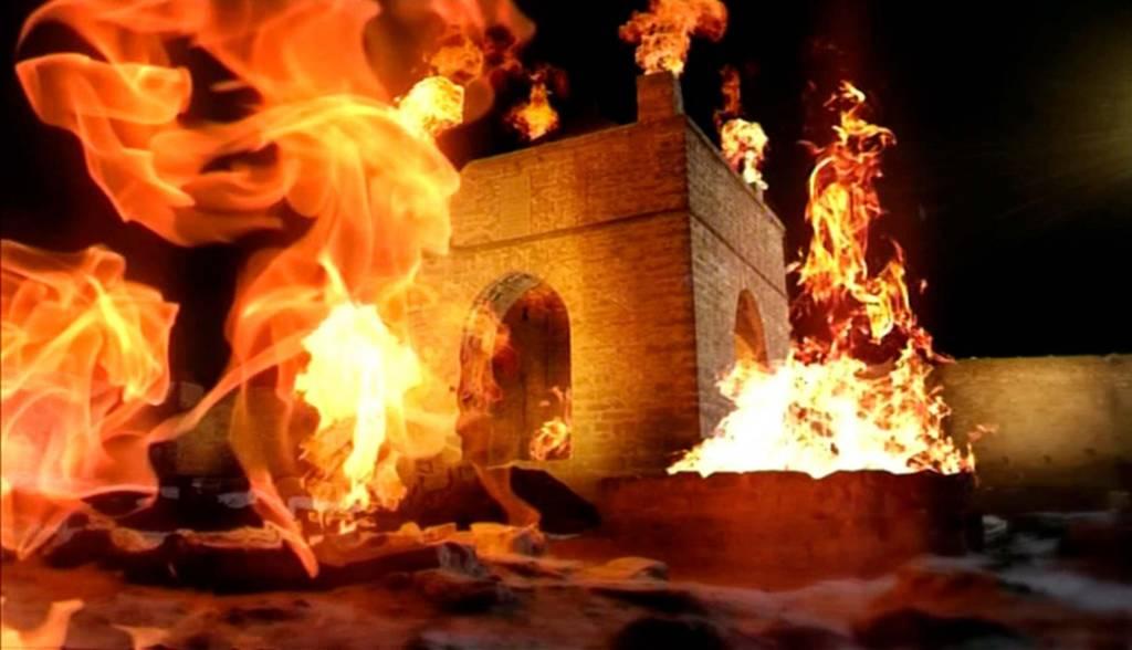 أذربيجان أرض النار
