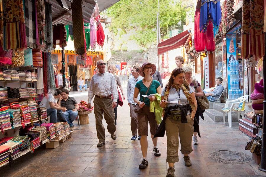 الاسواق الشعبية في اسطنبول